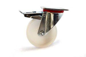 100 mm Nylon Plate Brake Castor